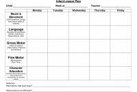 Top Blank Preschool Lesson Plan Template Pdf Templates ~ Fanmailus throughout Blank Preschool Lesson Plan Template