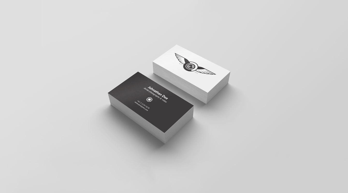 Top  Free Business Card Psd Mockup Templates In   Colorlib With Free Personal Business Card Templates