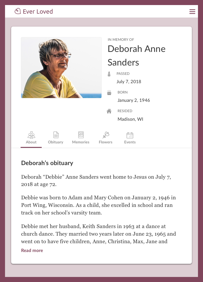 Top Free Obituary Templates  Ever Loved Intended For Fill In The Blank Obituary Template
