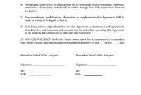 Trademark Assignment Agreement  Templates Hunter Pertaining To Claim Assignment Agreement Template