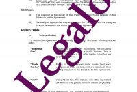 Trademark Assignment Template  Uk Agreement Transfering Regarding Trademark Assignment Agreement Template