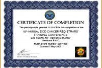 Training Certificate Sample Training Certificate Templates For Word for Training Certificate Template Word Format