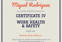 Training Certificate Template  Venngage with regard to Template For Training Certificate