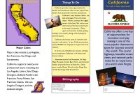 Travel Brochure Examples For Students  Theveliger throughout Country Brochure Template