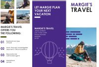Travel Brochure inside Travel Brochure Template For Students