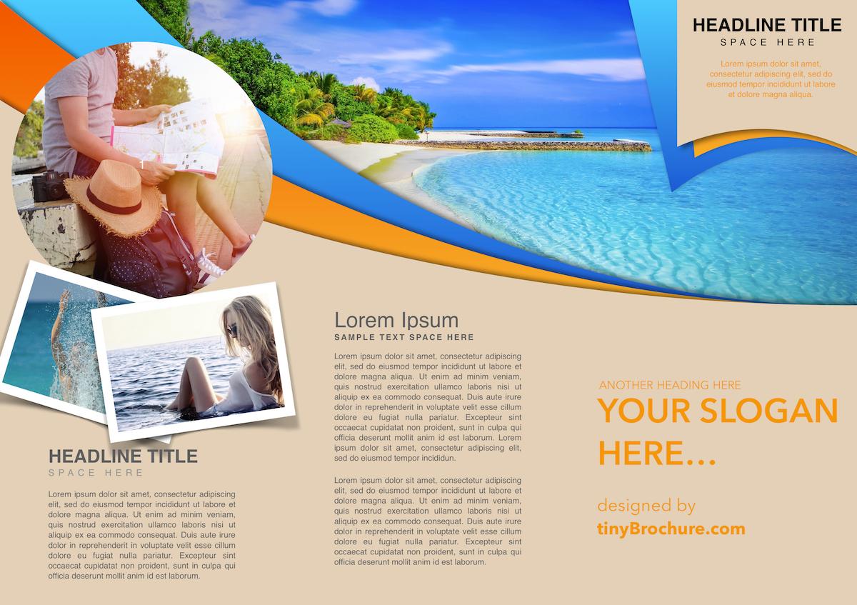 Travel Brochure Template Google Slides Intended For Travel Brochure Template Google Docs