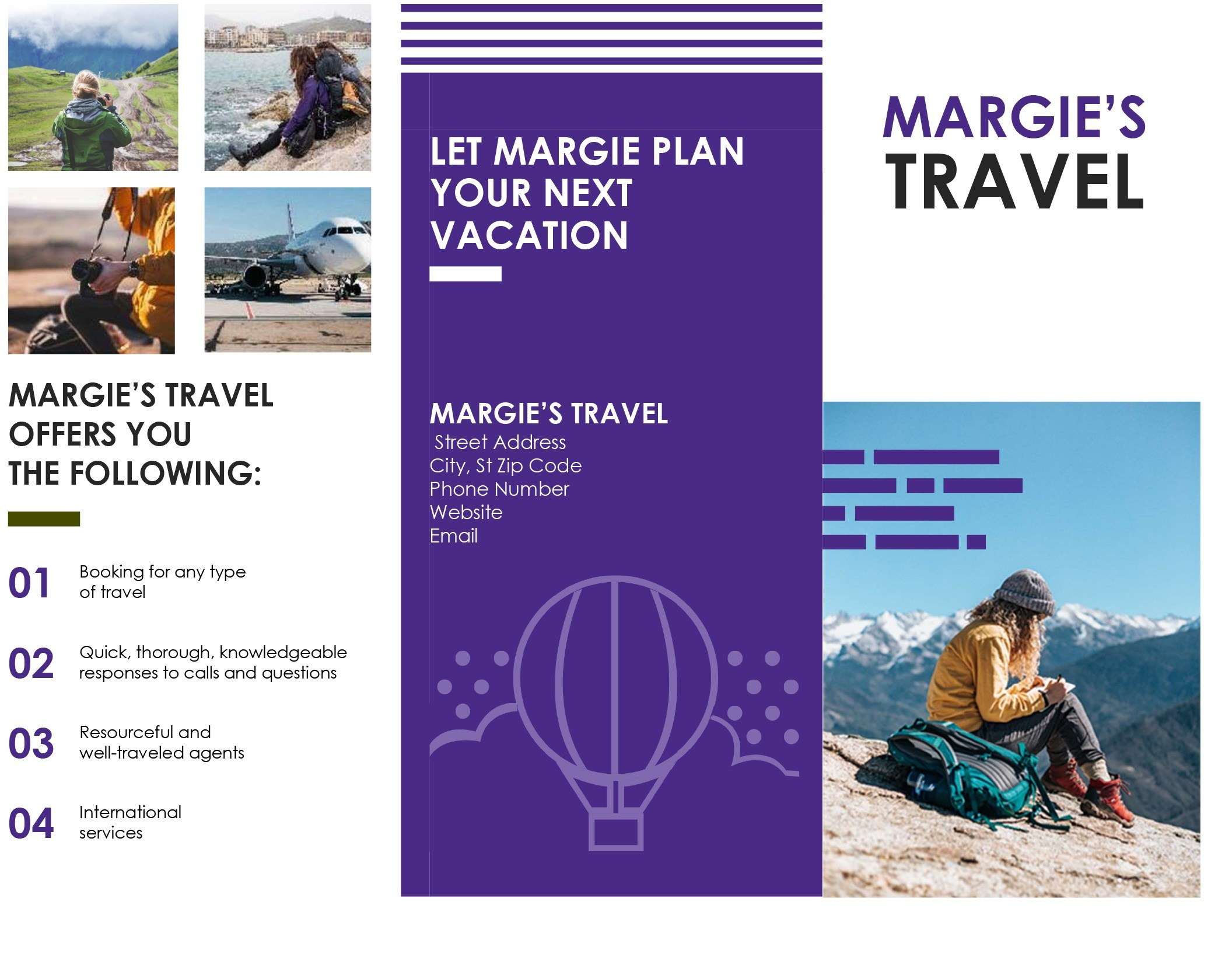 Travel Brochure Throughout Word Travel Brochure Template