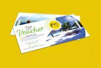 Travel Gift Certificate Template Striking Ideas Word Free for Free Travel Gift Certificate Template