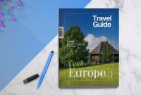 Travel Guide  Template  Print Regarding Travel Guide Brochure Template