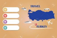 Travel Turkey Template Vector For Travel Agencies Etc Vector inside Blank Turkey Template