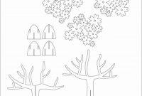Tree D Pop Up Card Kirigami Pattern   Kirigami Art  Pop Up Card inside 3D Christmas Tree Card Template