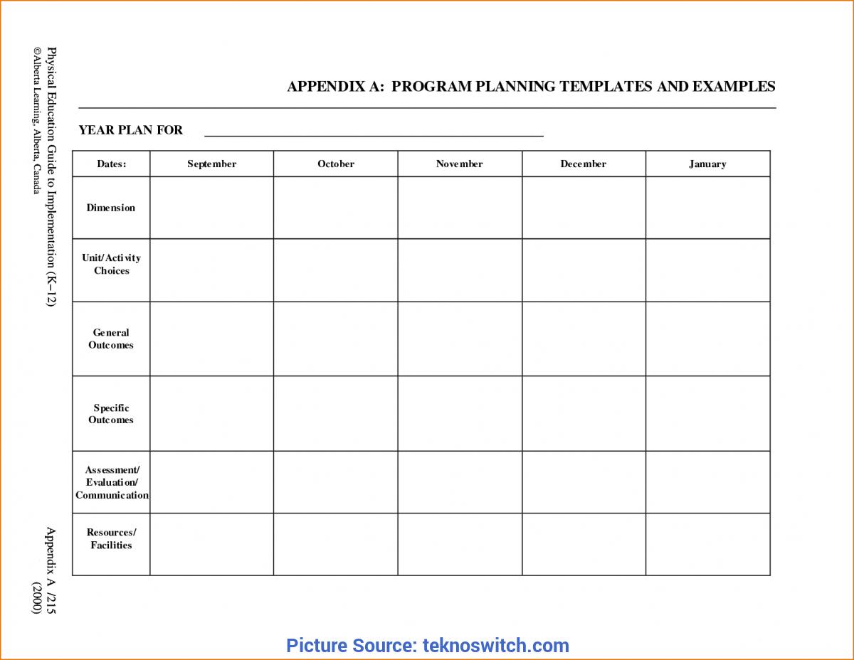 Trending Preschool Monthly Lesson Plan Template  Free Lesson Plan For Blank Preschool Lesson Plan Template