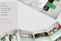 Tri Fold Brochure Template   Free Word Pdf Psd Eps Indesign for Brochure Folding Templates