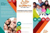 Tri Fold Charity Brochure  Print Artwork  Artwork Prints Work For Ngo Brochure Templates