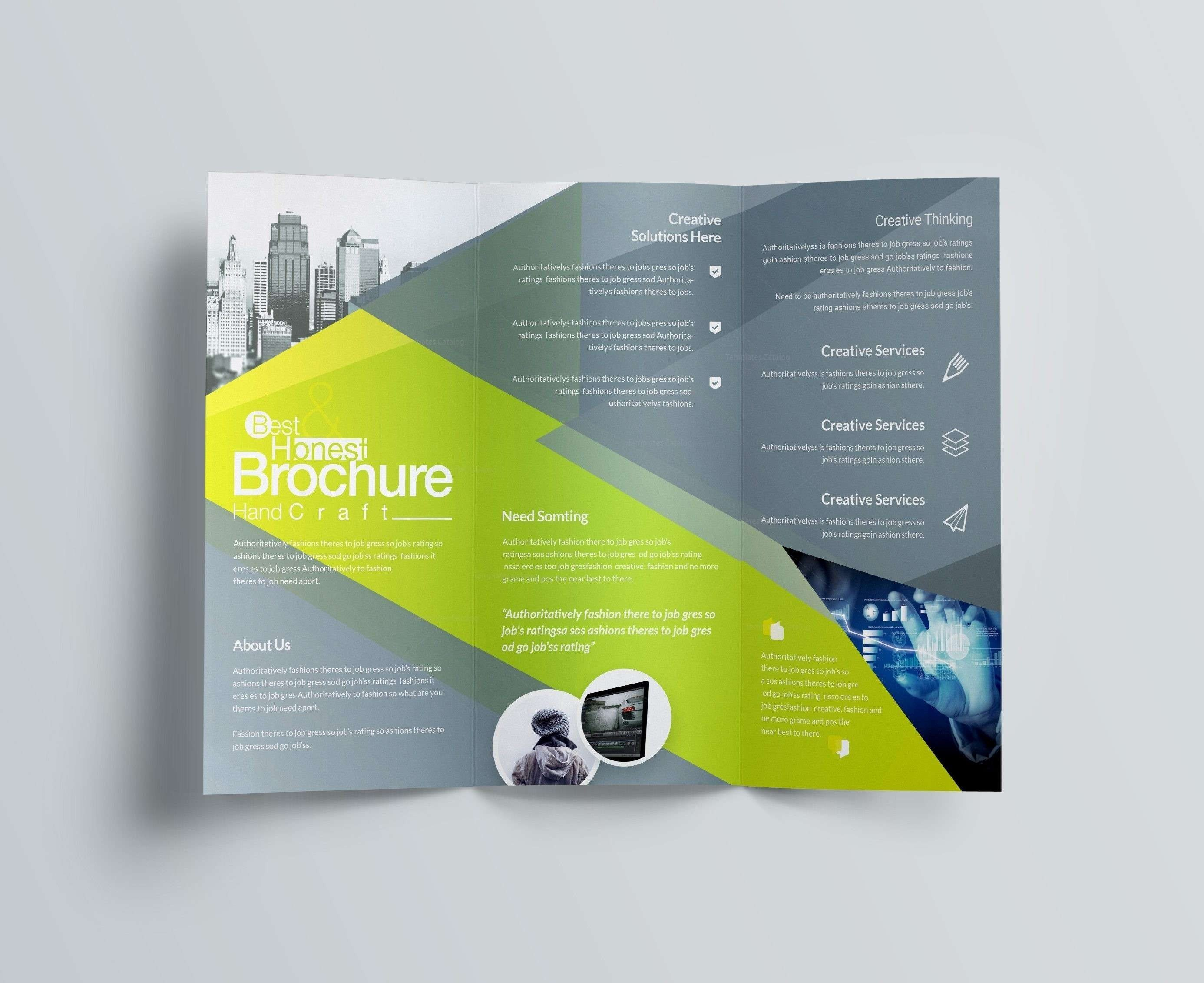 Tri Fold Letter Template Download Within Z Fold Brochure Template Indesign