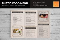 Tri Fold Menu Template Unforgettable Ideas Wedding Free Word for Menu Template Indesign Free