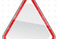 Triangle Blank Road Sign Template Vector Image Of Signs Symbols with regard to Blank Road Map Template