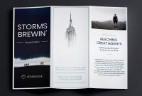 Trifold Brochure Examples To Inspire Your Design  Venngage Gallery for Good Brochure Templates