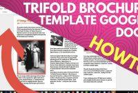 Trifold Brochure Template Google Docs  Youtube throughout Google Docs Tri Fold Brochure Template