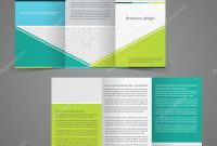 Trifold Business Brochure Template Twosided Template Design regarding Double Sided Tri Fold Brochure Template