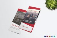 Trifold Corporate Business Brochure Template for Tri Fold Brochure Publisher Template
