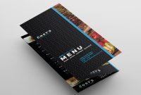Trifold Restaurant Menu Template In Psd Ai  Vector  Brandpacks intended for Tri Fold Menu Template Photoshop