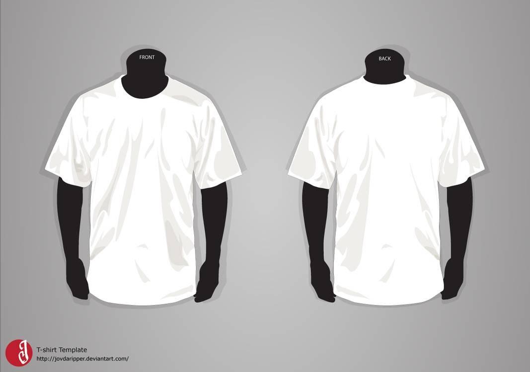 Tshirt Template Updatejovdaripper On Deviantart With Blank Tshirt Template Pdf