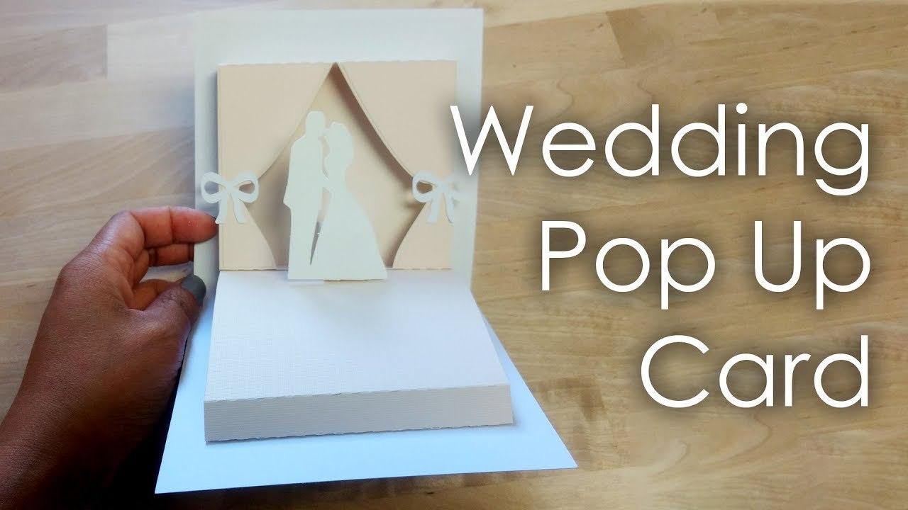 Tutorial  Template Diy Wedding Project Pop Up Card Throughout Diy Pop Up Cards Templates