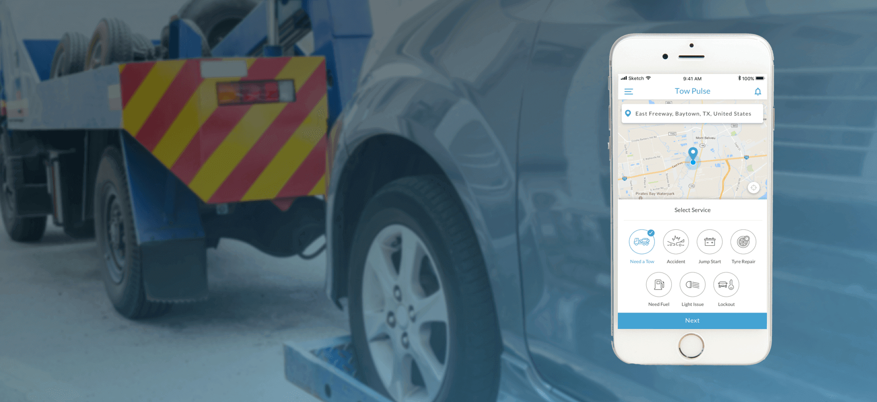 Uber For Tow Trucks App  Roadside Assistance On Demand Inside Towing Business Plan Template