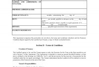 Uk Assured Shorthold Tenancy Agreement Unfurnished  Contract intended for Assured Short Term Tenancy Agreement Template