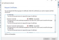 Unable To Request New Certificate From Nps Server with regard to Domain Controller Certificate Template