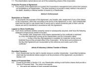 Understanding The  Fundamentals Of A Buysell Agreement  Free with Corporate Buy Sell Agreement Template