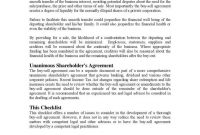 Understanding The  Fundamentals Of A Buysell Agreement  Free within Corporate Buy Sell Agreement Template