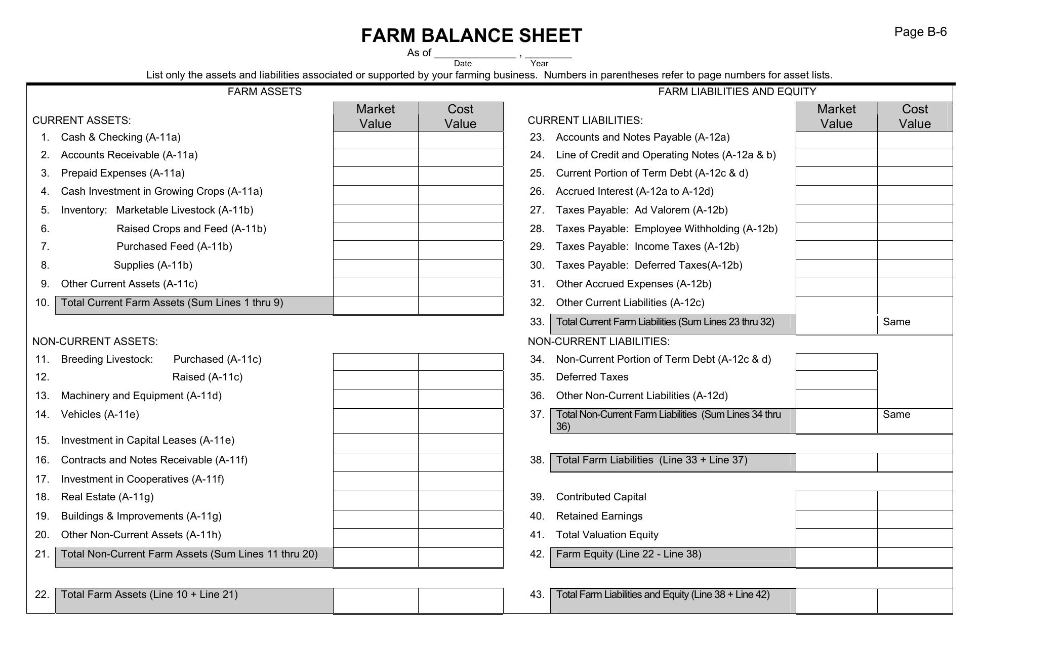 Unique Business Balance Sheet Template Excel Xlstemplate With Business Balance Sheet Template Excel