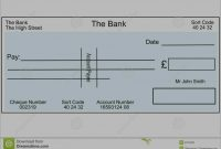 Unique Free Editable Cheque Template  Best Of Template within Blank Cheque Template Download Free