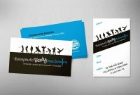 Unique Sports Massage Therapist Business Cards  Hydraexecutives throughout Massage Therapy Business Card Templates