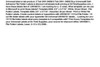 Universal File Folder Labels  Template Fill Online Printable inside Universal Label Templates