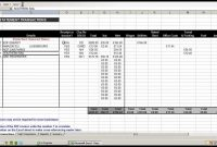 Using An Excel Spreadsheet To Record And Break Down Business inside Record Keeping Template For Small Business