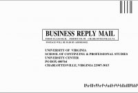 Usps Business Reply Mail Template  Caquetapositivo for Usps Business Reply Mail Template