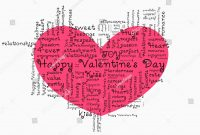 Valentines Day Love Background Greeting Card Stock Vector Royalty for Valentine Card Template Word