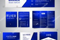 Vector Banner Flyers Brochure Business Cards Stock Vector Royalty intended for Advertising Card Template