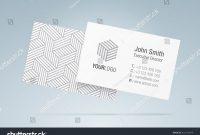 Vector Business Card Template Elegant Business Stock Vector Royalty regarding Generic Business Card Template