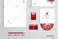 Vector Identity Templates Letterhead Envelope Business Stock inside Business Card Letterhead Envelope Template