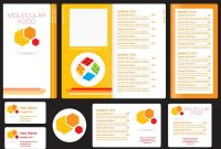 Vector Molecular Menu Templates Free Designs Template Impressive within Sample Menu Design Templates