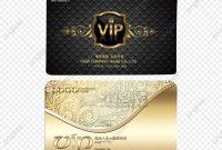 Vector Vip Card Template Card Vector Membership Card Vip Card Png for Membership Card Template Free