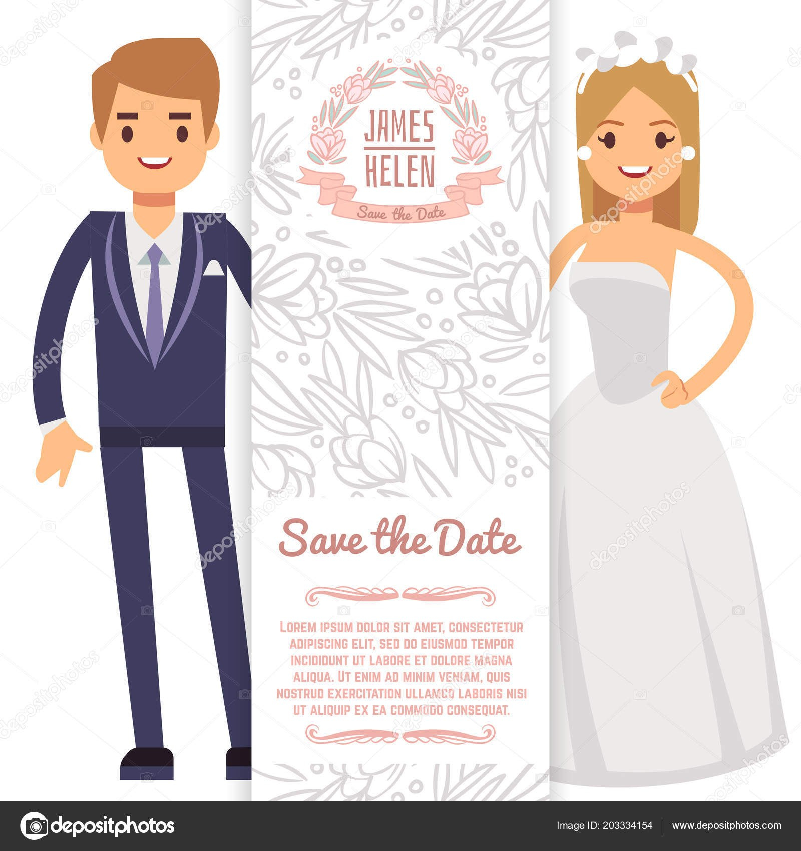 Vector Wedding Banner Template Decorative Flyer With Bride Fiance With Regard To Bride To Be Banner Template