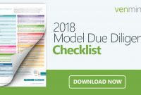 Vendor Due Diligence Checklist For Banks Or Credit Unions pertaining to Vendor Due Diligence Report Template