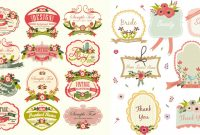 Vintage Vector Label Template Images  Free Vintage Vector Label for Antique Labels Template