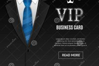 Vip Invitation With Tuxedo Tie Vector Stock Vector  Illustration within Tie Banner Template