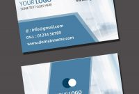 Visiting Card Psd Template Free Download inside Name Card Template Psd Free Download